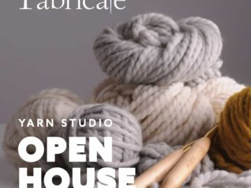 Fabricate | Yarn Studio has arrived!